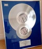 BPI Sales Award Bronski Beat Why Disk