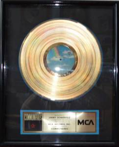 MCA - US Sales Award The Communards Disk