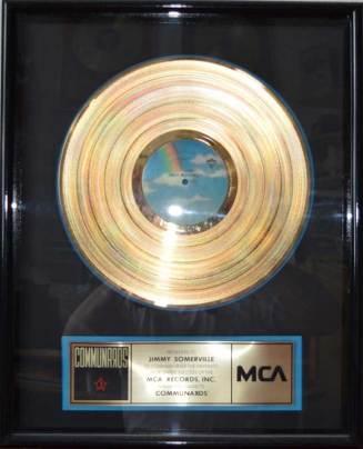 MCA - US Sales Award The Communards Disk