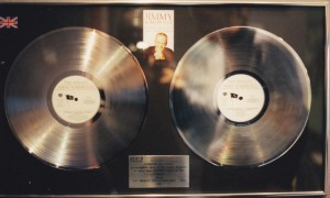 Jimmy Somerville Double Platin Award The Singles Collection