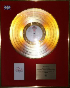Jimmy Somerville Gold Award The Communards Red