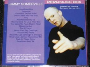 JIMMY SOMERVILLE PERA MUSIC BOX VERY RARE TURKEY EDITION CD ALBUM 16 TRACKS NEW