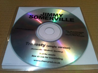 Travesty Promo CD