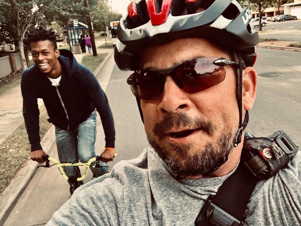 Bill Fehr Bike Messenger Photo