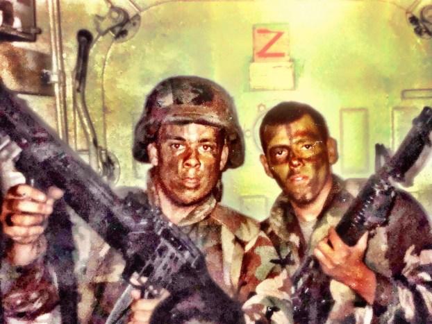 Bill Fehr In Marines