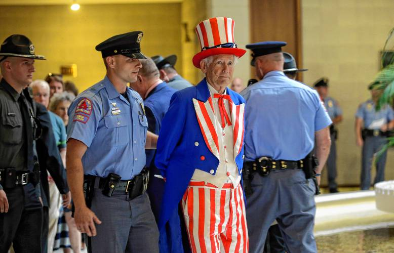 Uncle Sam Getting Arrested