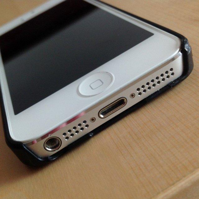 iPhone speaker grille