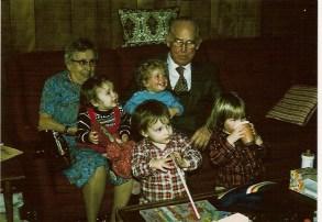 Grandma and Granpa Schenck