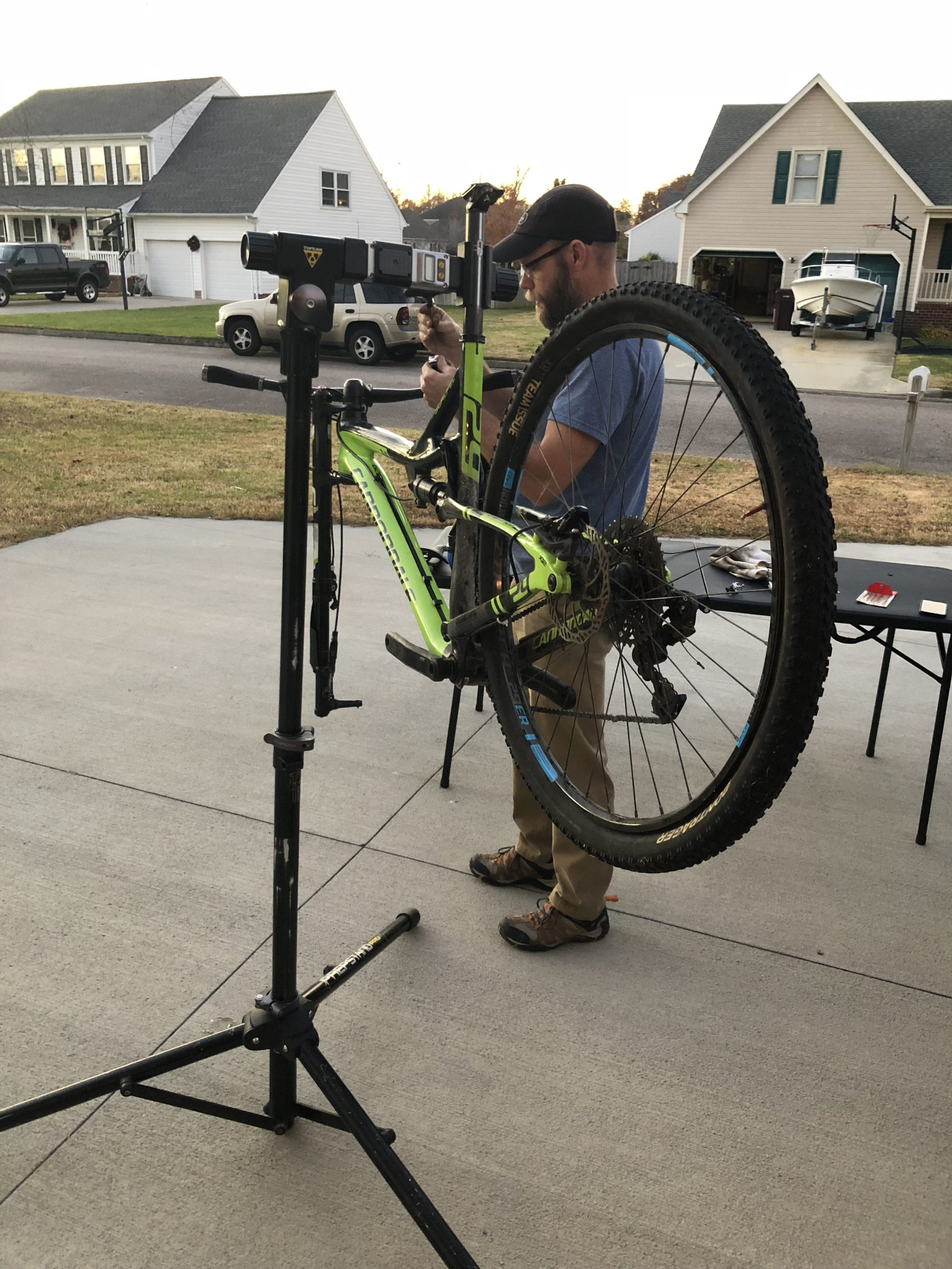 Fixing Jerry's Fat Bike
