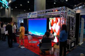 LED video manufacturers take InfoComm by storm?