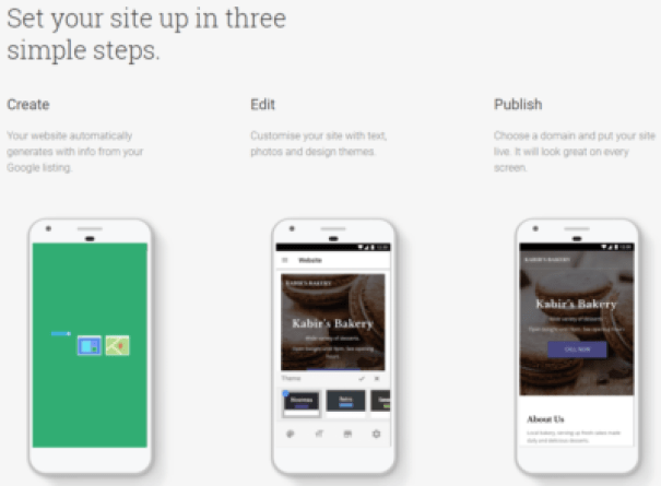 Google Website Builder