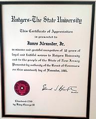 Rutgers Teaching Certificate
