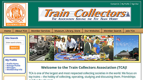 Traincollectors Gateway Site