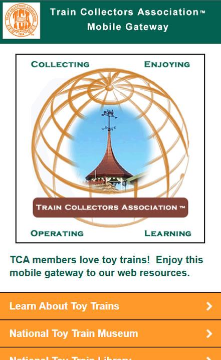 Train Collectors Mobile.