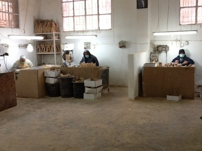 Our family working in Bethlehem