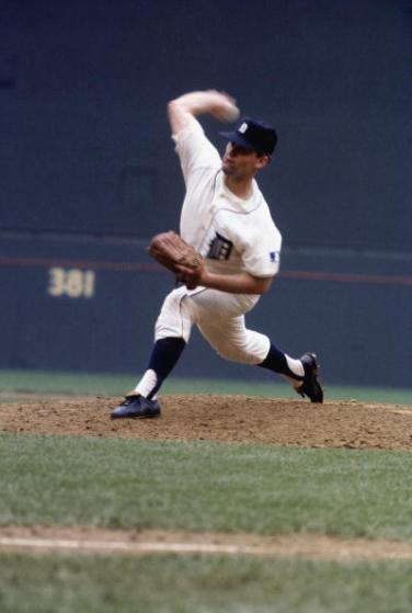 WASHINGTON - JULY 23: Denny McLain #17 of the Detroit Tigers pitches during the All-Star Game at RFK Stadium on July 23, 1969 in Washington, D.C. (Photo by Focus on Sport/Getty Images)