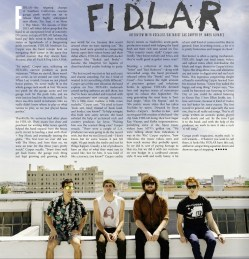 FIDLAR interview. Issue 20