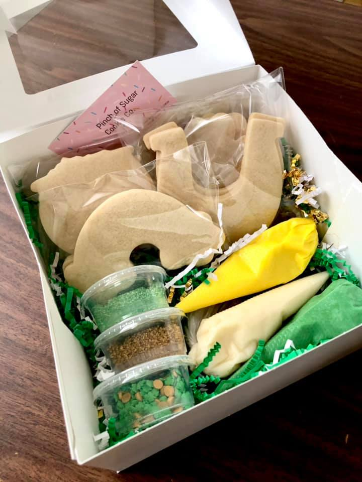 Pinch of Sugar Cookie Company - St Patricks Day cookie box