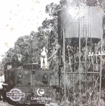 Historical photo of Barongarook Tank between 1920 and 1962