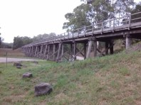Curdies River trestle bridge
