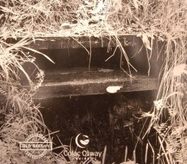 Historical photo of box culvert