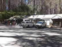 Telephone Box Junction, Mt Stirling resort