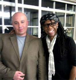 Jim with Nile Rodgers