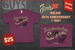 Jim's Rockin' 25th Anniversary T-Shirt