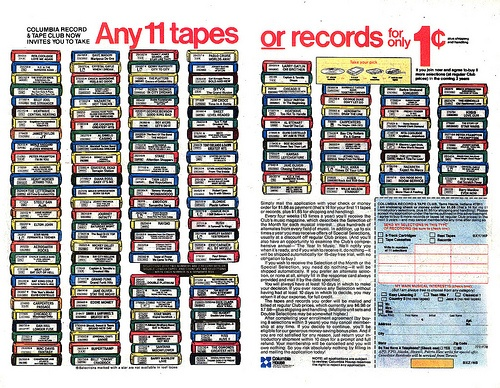 Columbia House Record Club – RIP