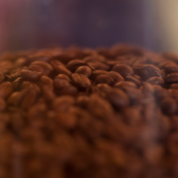 JSD Coffee beans close up