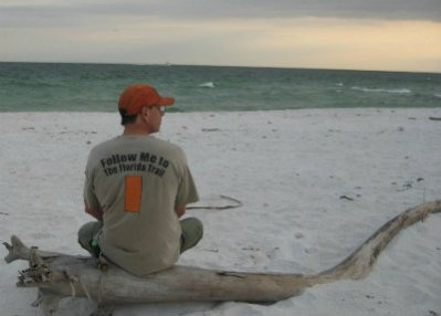 Jim-Schmid-looking-at-gulf-Gulf-Is-Nat-Seashore-Florida-Trail-Association-Panhandle-Trace-Hike-2011