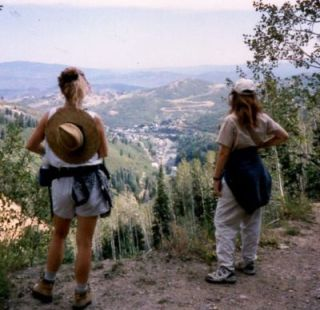Sandra-Schmid-with-Pam-Gluck-in-Park City-UT-1998