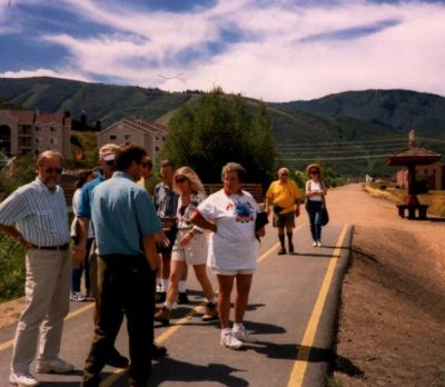 American-Trails-board-members-on-trail-in-Park City-UT-1998