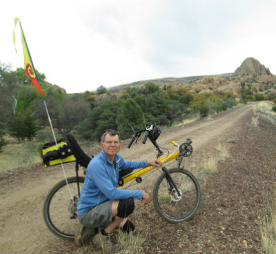 Jim-Schmid-with-Bacchetta-Giro-recumbent-on-Prescott-Peavine-Trail-AZ-4-7-2016