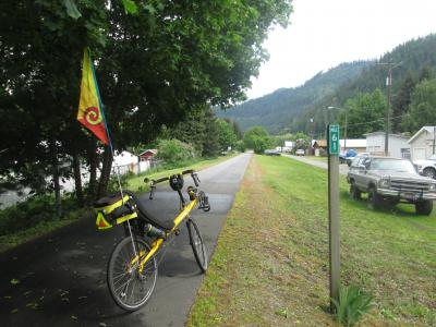 Jim-Schmid's-Bacchetta-Giro-recumbent-at-Milepost-61-Trail-of-the-Coeur-d'Alenes-ID-5-15-2016