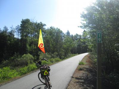 Jim-Schmid's-Bacchetta-Giro-recumbent-at-Milepost-19-Trail-of-the-Coeur-d'Alenes-ID-5-13-2016