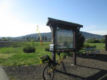 Jim-Schmid's-Bacchetta-Giro-recumbent-on-Trail-of-the-Coeur-d'Alenes-Plummer-ID-5-12-2016