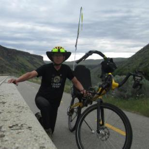Jim-Schmid-with-Bacchetta-Giro-recumbent-at-east-end-of-Boise-River-Greenbelt-ID-5-7-2016