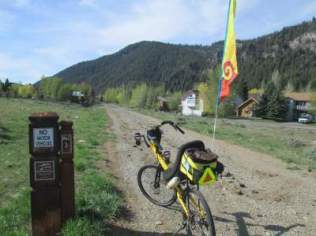 Jim-Schmid's-Bacchetta-Giro-recumbent-at-milepost-3-Wood-River-Trail-Ketchum-to-Bellevue-ID-5-5-2016