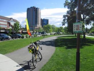 Jim-Schmid's-Bacchetta-Giro-recumbent-on-Centennial-Trail-Coeur-d'alene-ID-5-11-2016