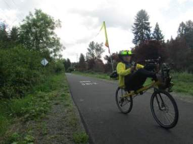 Jim-Schmid-riding-Bacchetta-Giro-recumbent-on-Springwater-Corridor-Rail-Trail-Portland-OR-4-25-2016