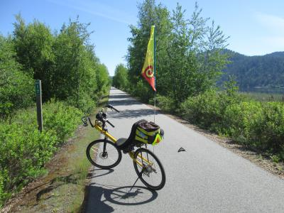 Jim-Schmid's-Bacchetta-Giro-recumbent-at-Milepost-17-Trail-of-the-Coeur-d'Alenes-ID-5-12-2016