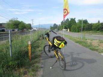 Jim-Schmid's-Bacchetta-Giro-recumbent-on-Bitterroot-Trail-Missoula-MT-5-19-2016