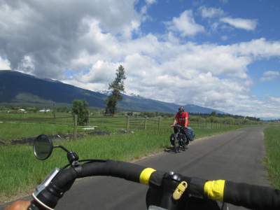Touring-cyclist-on-Bitterroot-Trail-Missoula-to-Victor-MT-5-19-2016