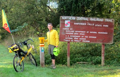 Jim-Schmid-with-Bacchetta-Giro-recumbent-on-Torrey-C-Brown-Rail-Trail-MD-10-4-2016