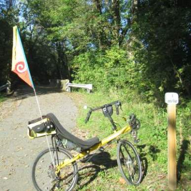 Jim-Schmid's-Bacchetta-Giro-recumbent-MP-1-Heritage-Ext-Rail-Trail-PA-10-5-2016