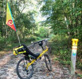 Jim-Schmid's-Bacchetta-Giro-recumbent-at-MP-3-Torrey-C-Brown-Rail-Trail-MD-10-4-2016