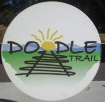 Doodle-Trail-sign-Easley-SC-10-24-2016