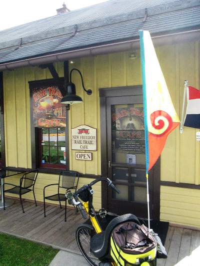 Jim-Schmid's-Bacchetta-Giro-recument-on-Heritage-Rail-Trail-PA-10-5-2016