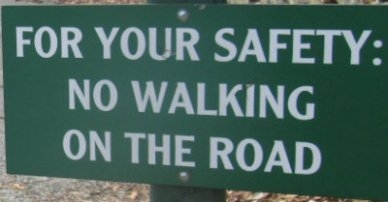 No-walking-on-road-sign-Chimney-Rock-State-Park-NC-2016-01-01